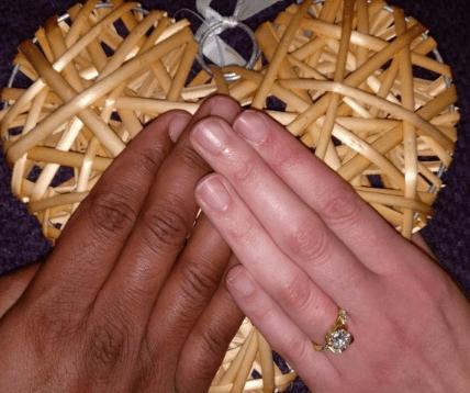 Diamond engagement proposal