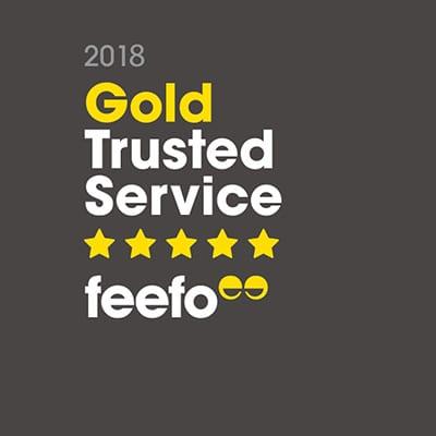 FEEFO Gold Trusted Service Award Winning Jewellers!