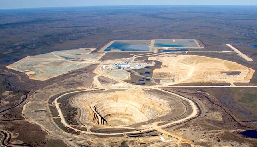 De Beers Victor Mine