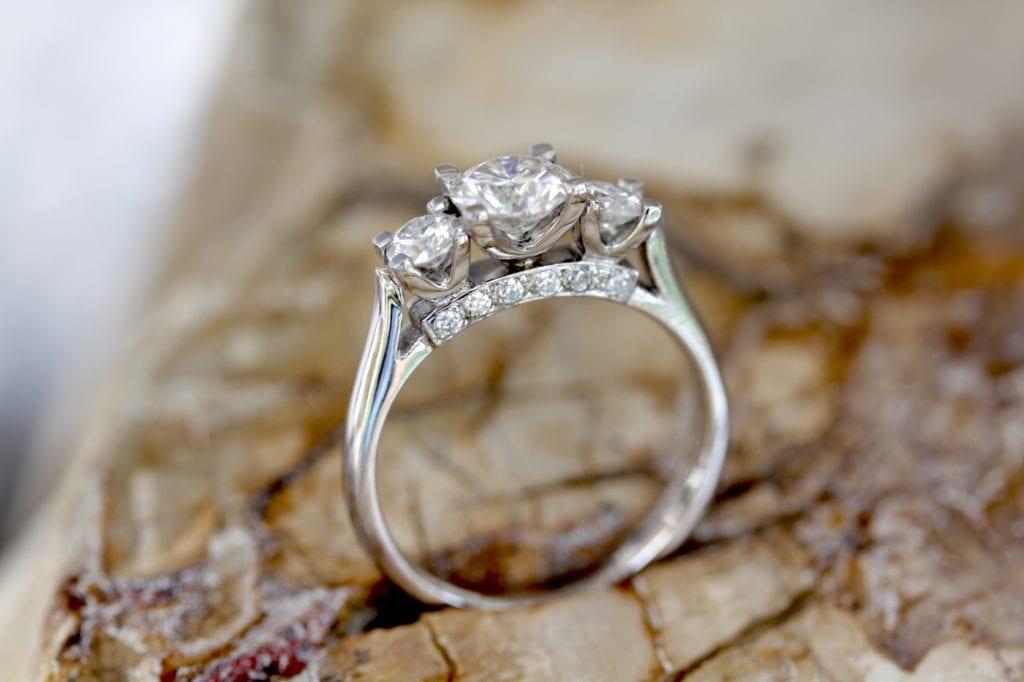 Unique Bespoke Ethical Engagement Ring