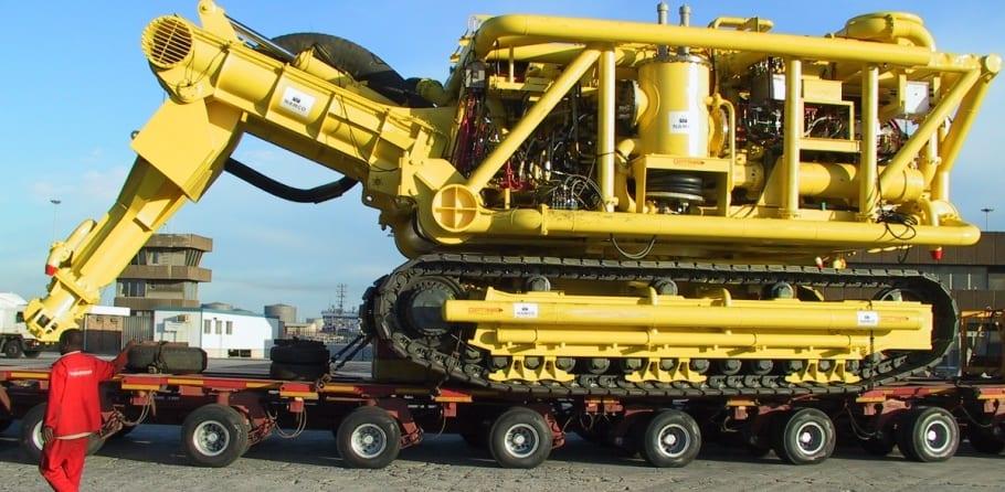 Canadian undersea diamond mining crawler