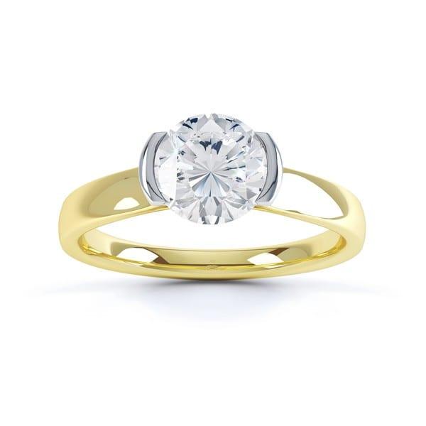 Solitaire Engagement Ring   Amdis   Ethica Diamonds UK