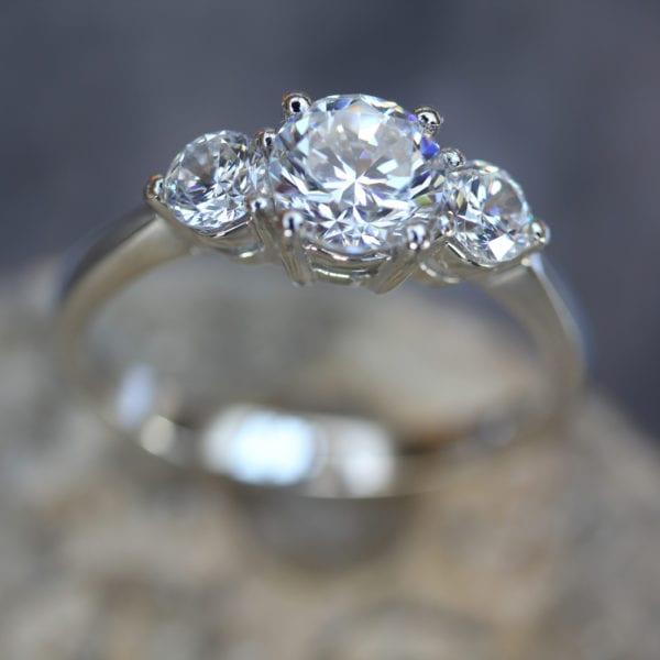 Lab Created Diamond Ring - Adora