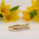 Ethical Diamond Engagement Ring - Alissa - Ethica Diamonds Cornwall UK