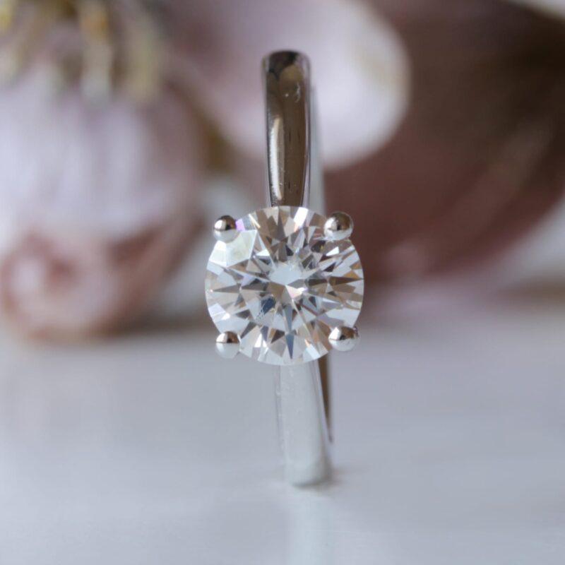 Lab Grown Diamond Engagement Ring - Ana