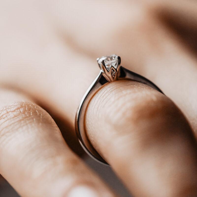 Ethica Diamond Engagement Ring | Ana | Ethica Diamonds Cornwall