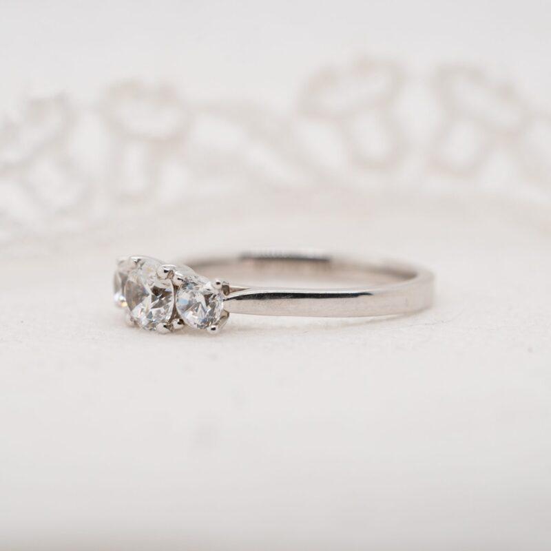 Eco Conscious Diamond Ring | Annia | Ethica Diamonds Cornwall