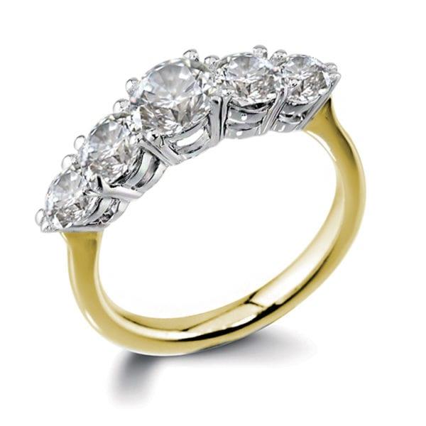 Eco Friendly Diamond Ring - Calla