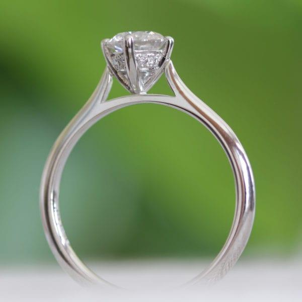 Vegan Friendly Diamond Ring - Camille