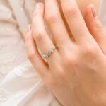 Man Made Diamond Ring   Cerelia   Ethica Diamonds Cornwall UK