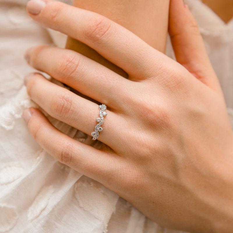 Man Made Diamond Ring | Cerelia | Ethica Diamonds Cornwall UK