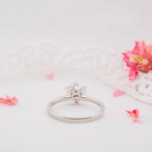 Eco Conscious Diamond Engagement Ring | Cyra | Ethica Diamonds UK