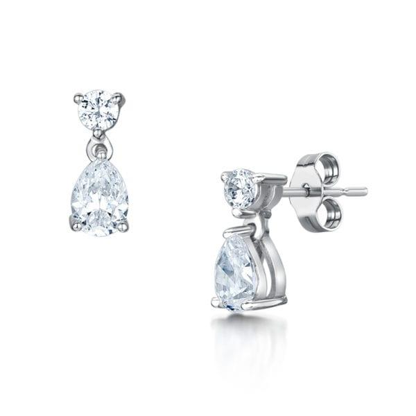 Ethical Sustainable Diamond Earrings - Beau