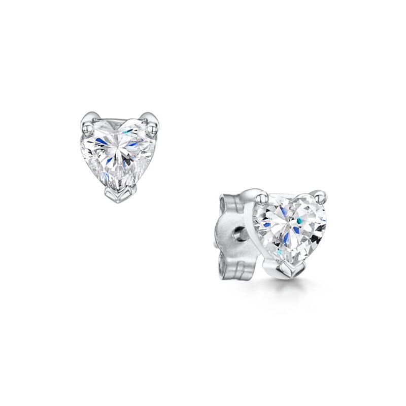 Synthetic Diamond Earrings - Dulcie