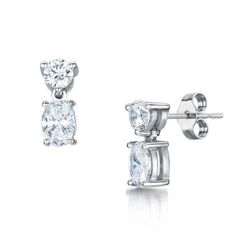 Ethical Diamond Earrings - Gaia