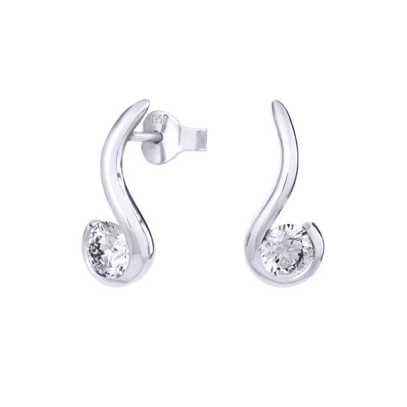 Eco-Friendly Earrings | Orla | Ethica Diamonds Cornwall UK