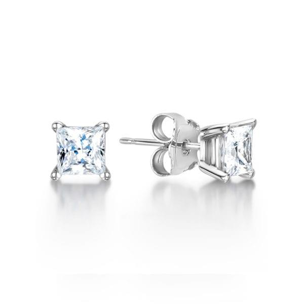 Lab Created Diamond Earrings - Sade