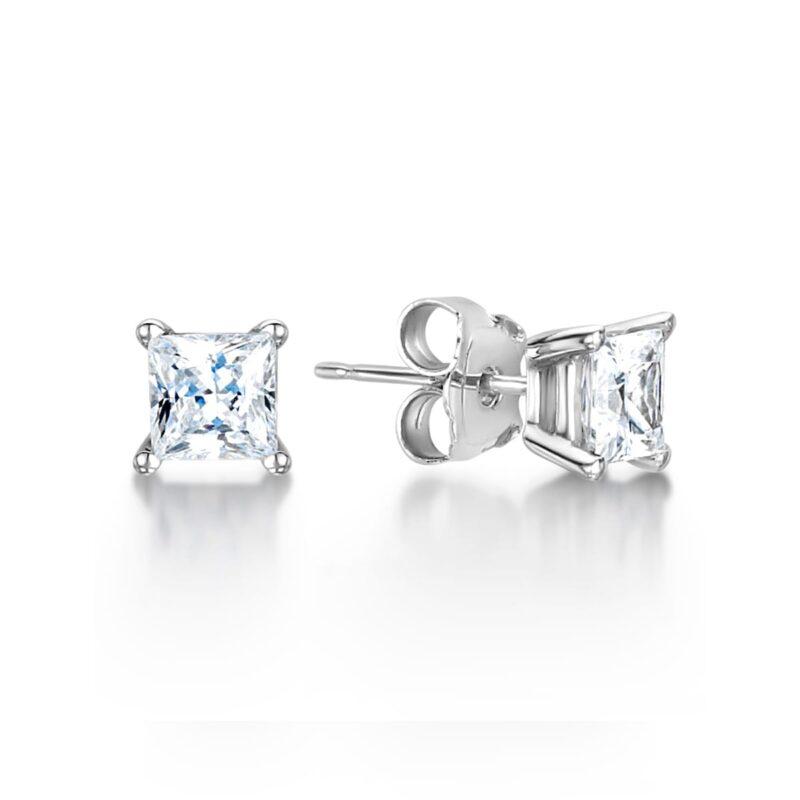Ethically Created Diamond Earrings - Sade
