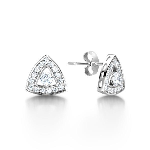 Kind Not Mined™ Ethical Diamond Earrings - Sienna, Unique Sustainable Diamond Earrings - Sienna