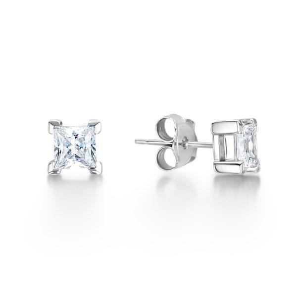 Ethically Sourced Diamond Earrings - Thea