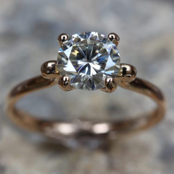 Vegan Friendly Diamond Ring - Elaina