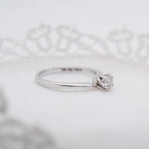 Sustainable Diamond Engagement Ring | Eleos | Ethica Diamonds UK