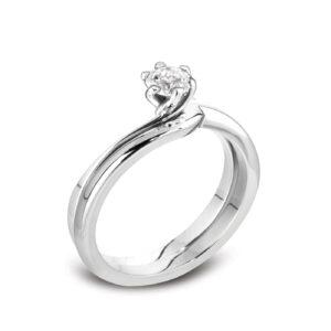 Sustainable Solitaire Engagement Ring | Eleos | Ethica Diamonds UK