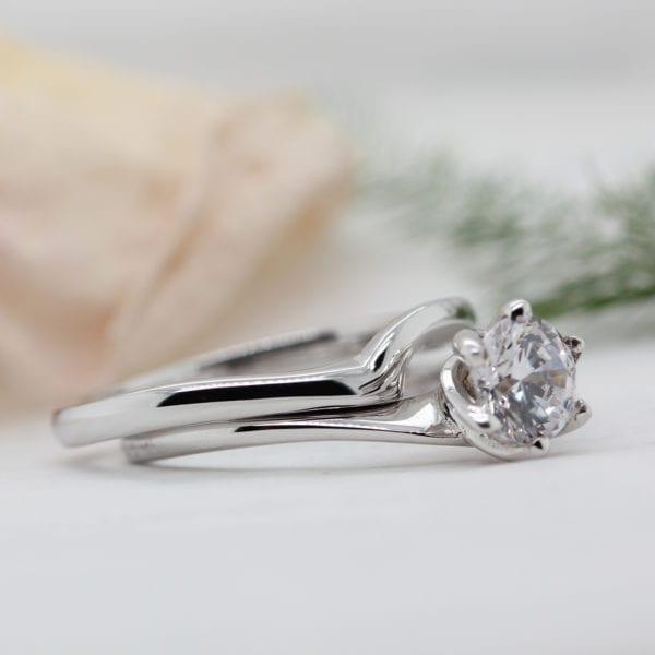Affordable Diamond Engagement Ring - Eleos
