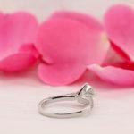 Tiffany Style Diamond Engagement Ring - Elia - Ethica Cornwall UK