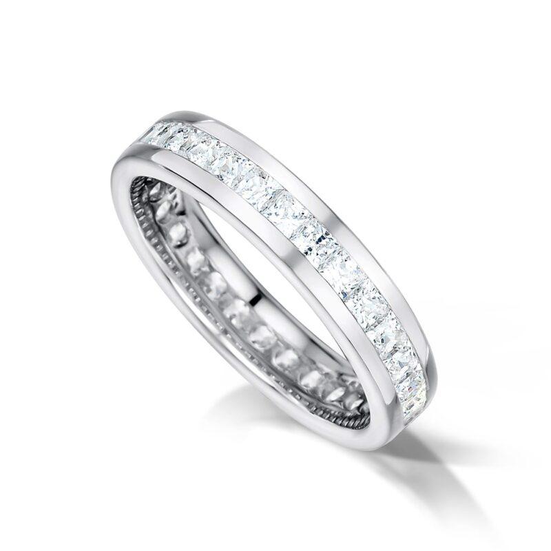 Conflict Free Diamond Wedding Ring - Elora Full Set