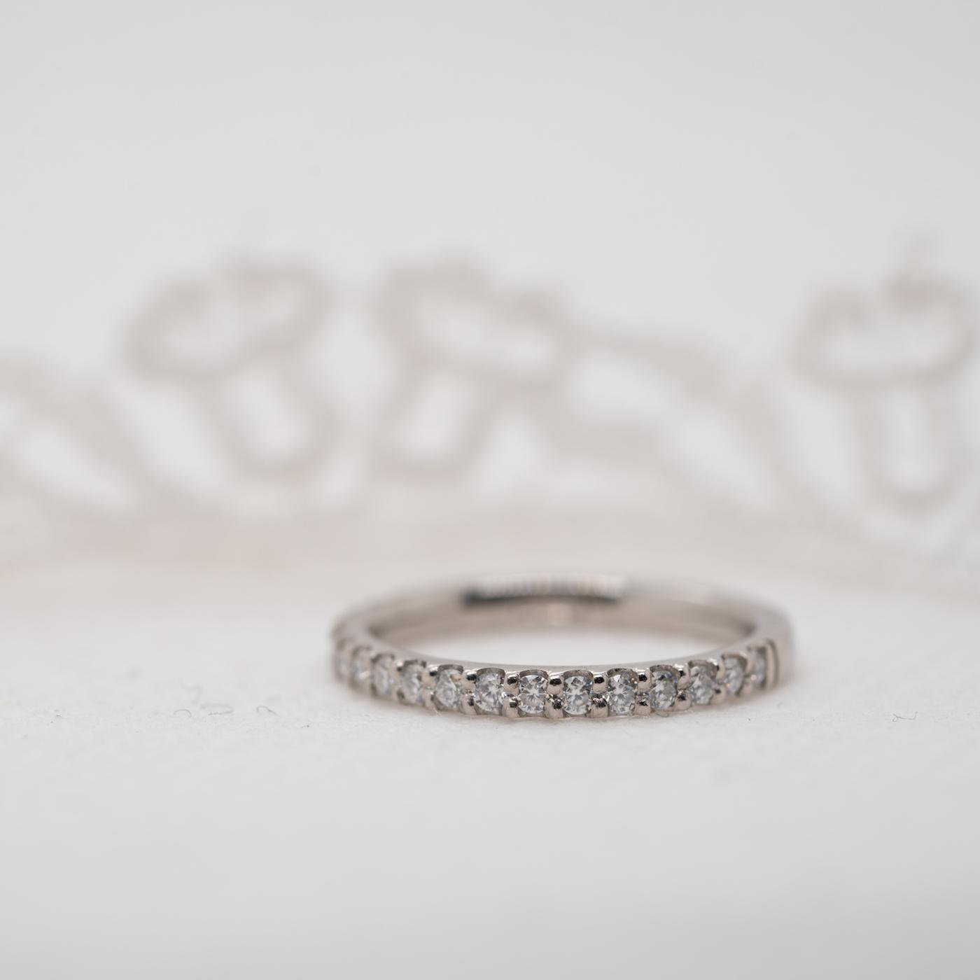 Vegan Friendly Diamond Ring | Eloise | Ethica Diamonds Cornwall UK