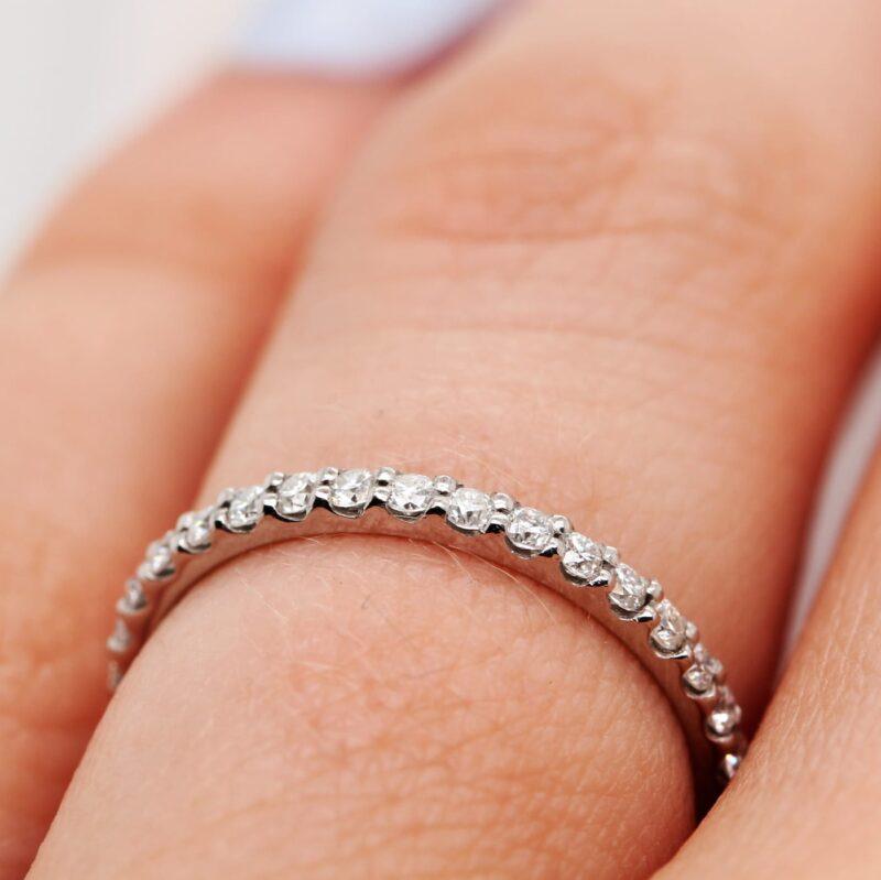 Vegan Friendly Diamond Ring - Eloise