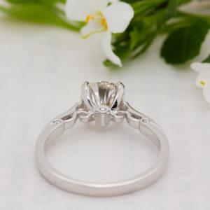 Conflict Free Diamond Engagement Ring - Evangeline - Ethica Diamonds