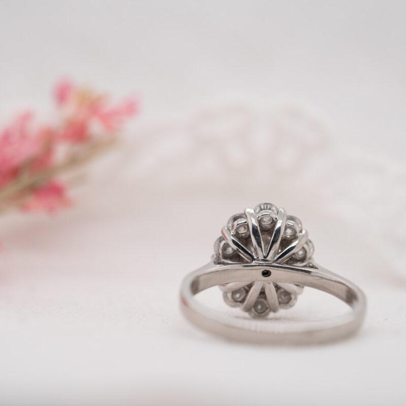 Ethical Diamond Oval Cut Ring | Fleur | Ethica Diamonds Cornwall UK