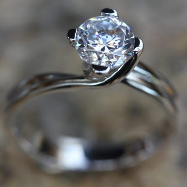 Lab Grown Diamond Engagement Ring - Fotini