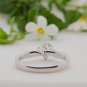 Conflict Free Diamond Engagement Ring - Irma - Ethica Diamonds UK