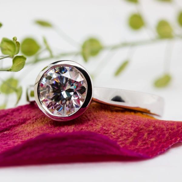 Earth Friendly Diamond Ring - Lana