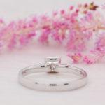 Princess Cut Sustainable Diamond Ring - Lyra - Ethica Diamonds Cornwall