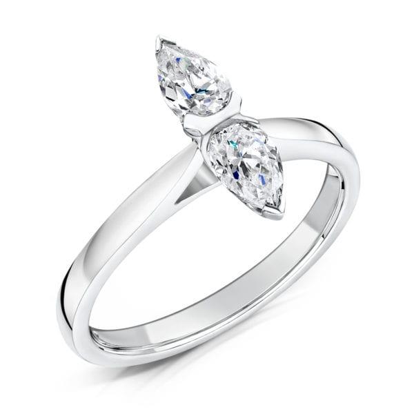 Unique Sustainable Diamond Ring - Diella