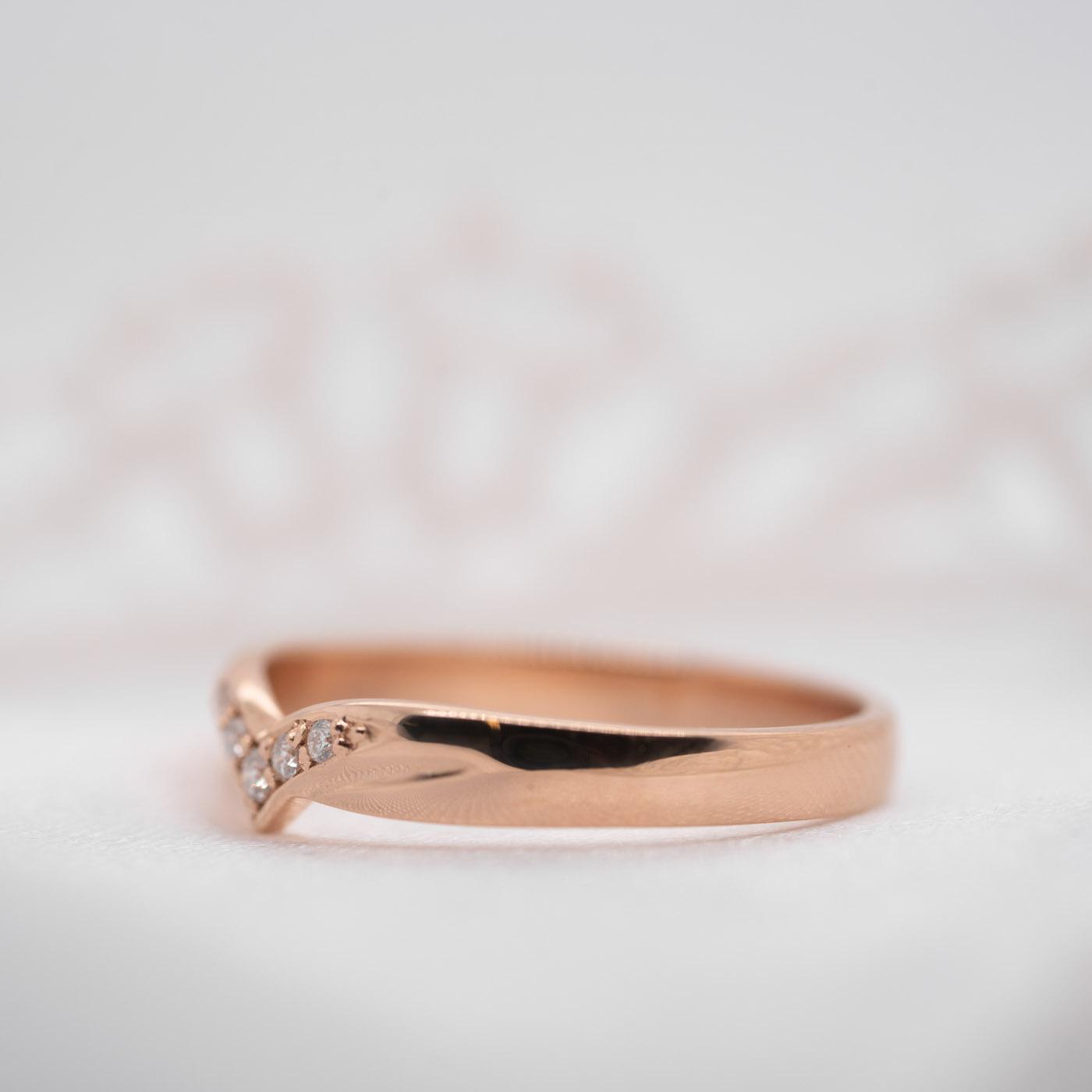 Sustainable Diamond Set Wedding Band | Mae | Ethica Diamonds UK
