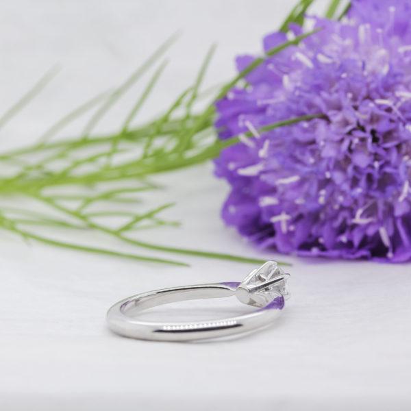 Earth Friendly Diamond Engagement Ring - Millie - Ethica Diamonds UK