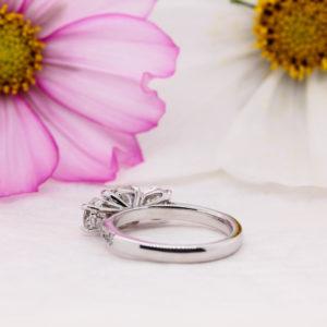 Ethically Created Diamond Engagement Ring - Nouveau - Ethica Diamonds