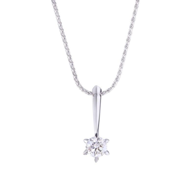 Conflict Free Diamond Pendant - Anouk