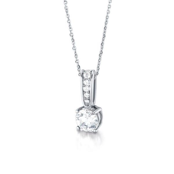 Eco Conscious Diamond Pendant - Caily