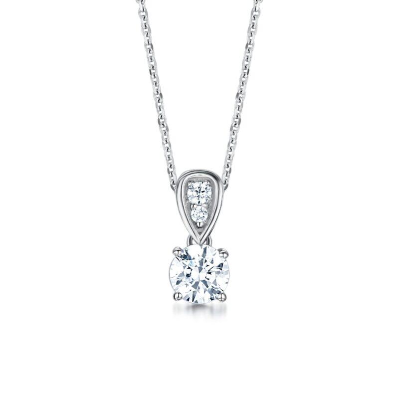 Conflict Free Diamond Pendant - Freya