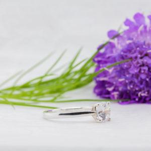 Vegan Friendly Diamond Ring - Preah - Ethica Diamonds Cornwall UK