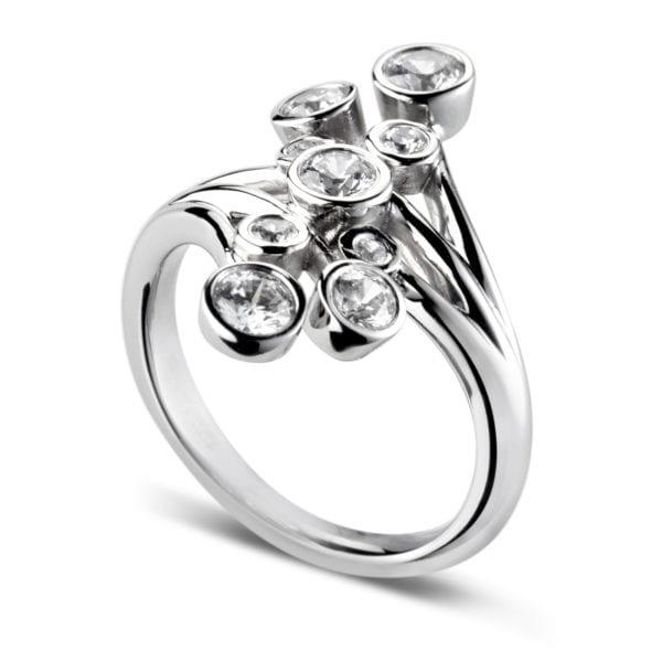 Earth Friendly Diamond Ring - Rosalia