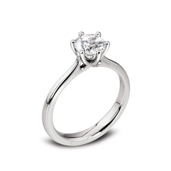 Pure Diamond Engagement Ring - Rae