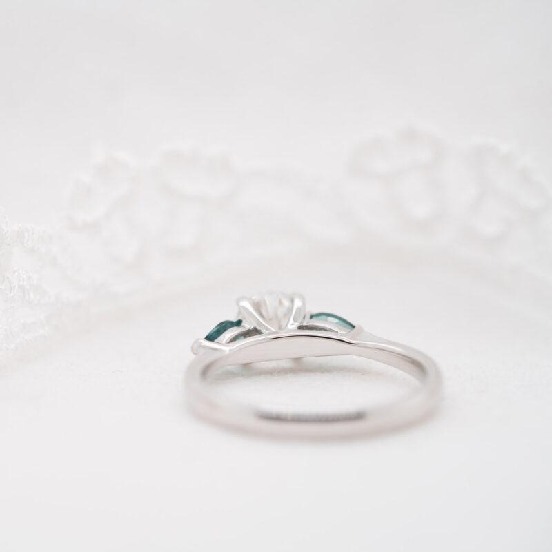 Pure Diamond Trilogy Ring | Reverie | Ethica Diamonds Cornwall