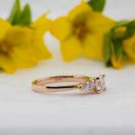 Pure Diamond Trilogy Ring - Reverie